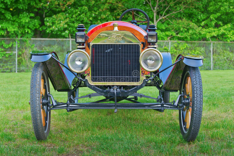 Vintage Ford Model A Roadster royalty free stock photos