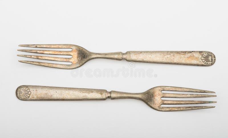 Download Vintage forks stock image. Image of shiny, retro, elegance - 75921811