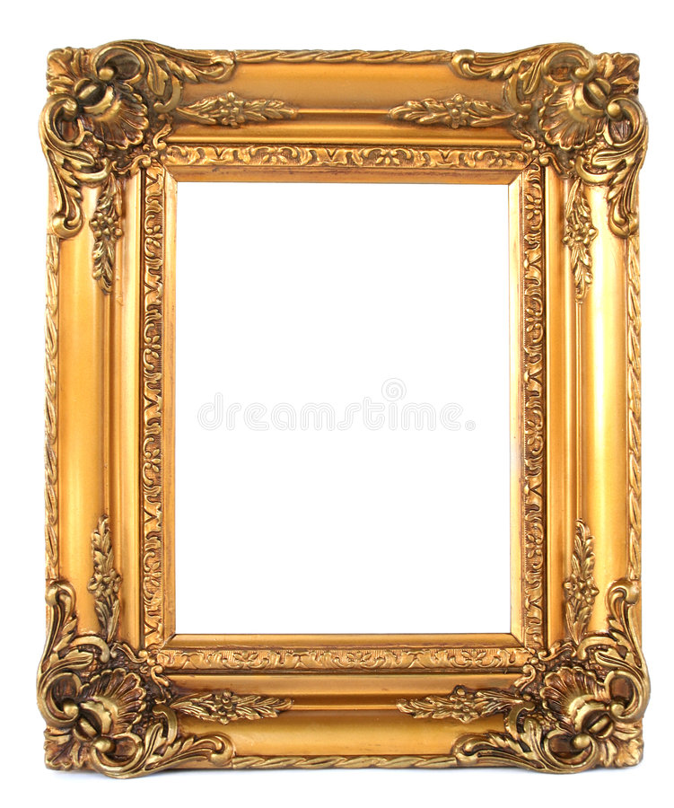 Download Vintage frame stock photo. Image of blank, goldy, wood - 1663138