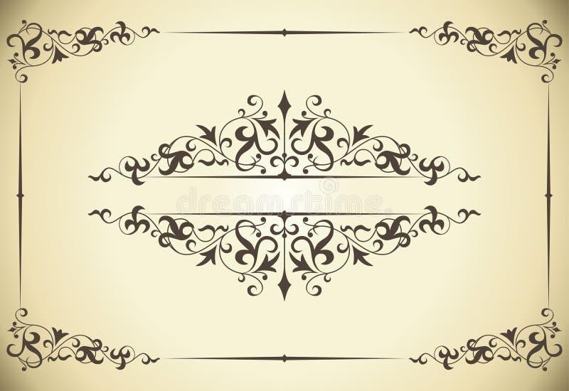 Download Vintage frame stock vector. Image of decoration, decor - 19160868