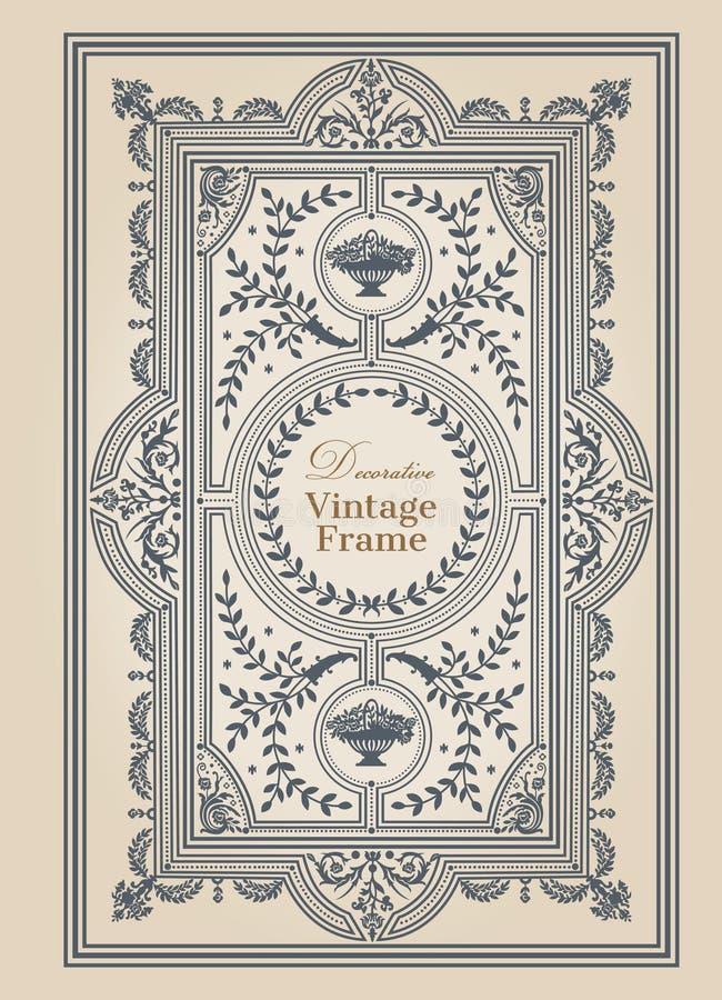 Vintage frame stock vector. Illustration of engagement - 29102003