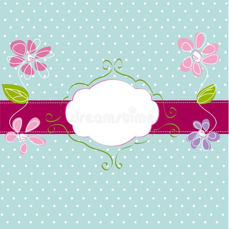 Vintage frame background vector illustration