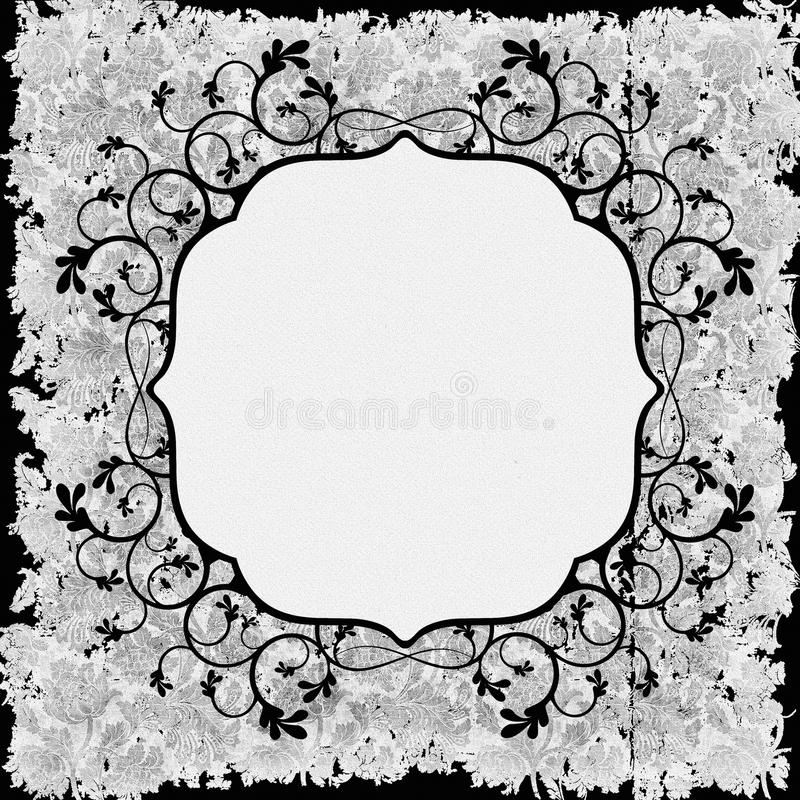 Download Vintage Frame Background Stock Illustration Of Aged