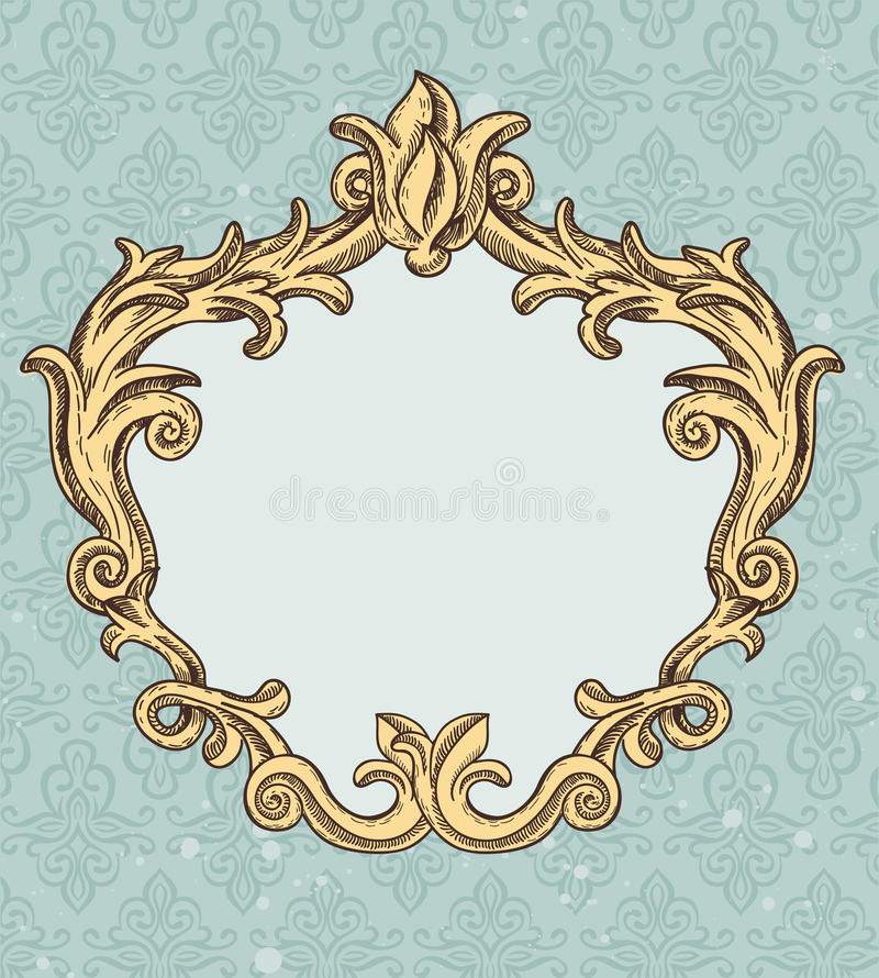 Download Vintage Frame With Copy Space For Text Stock Vector - Illustration: 25716949