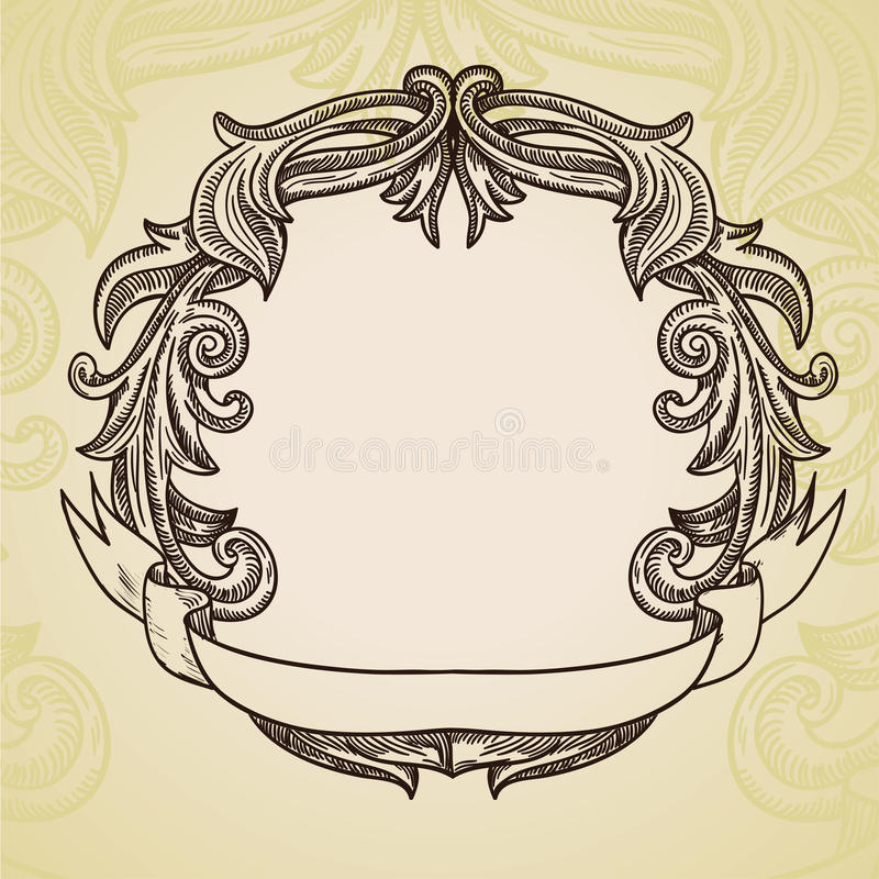 Download Vintage Frame With Copy Space For Text Stock Vector - Image: 25976602
