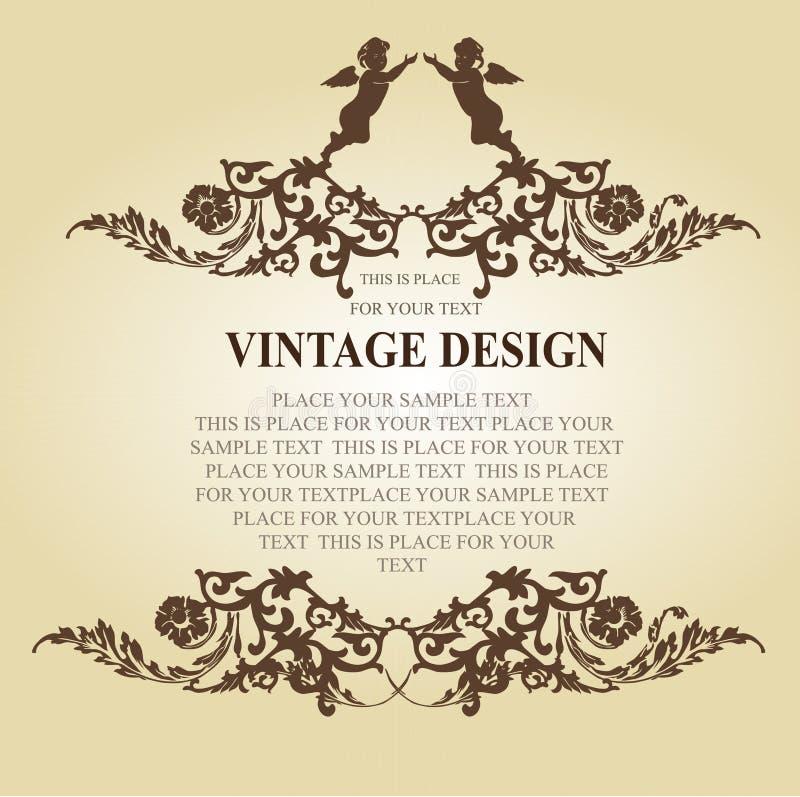 Free Vintage Frame Elements Stock Photography - 6206142