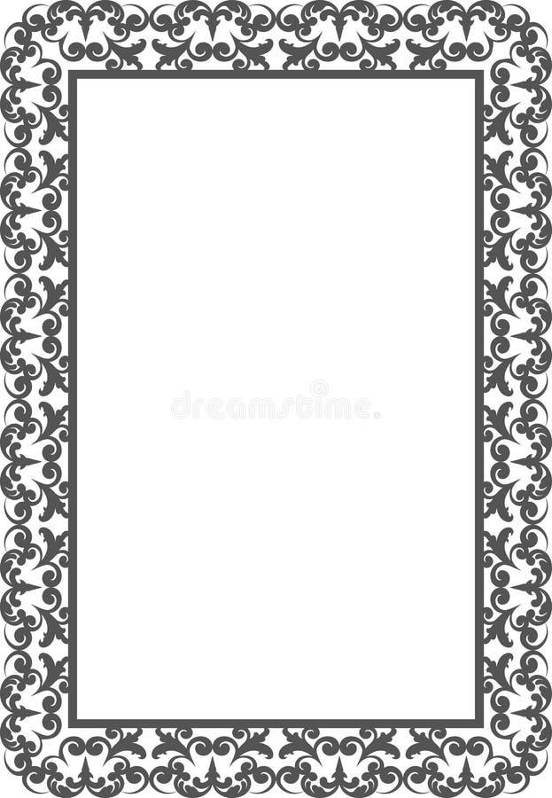 Download Vintage frame stock vector. Illustration of decorative - 35413105