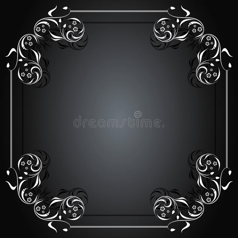 Download Vintage frame for text stock vector. Image of image, border - 10450525