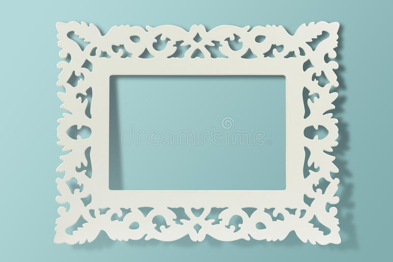 Download Vintage frame on wall stock photo. Image of decorate - 25220360