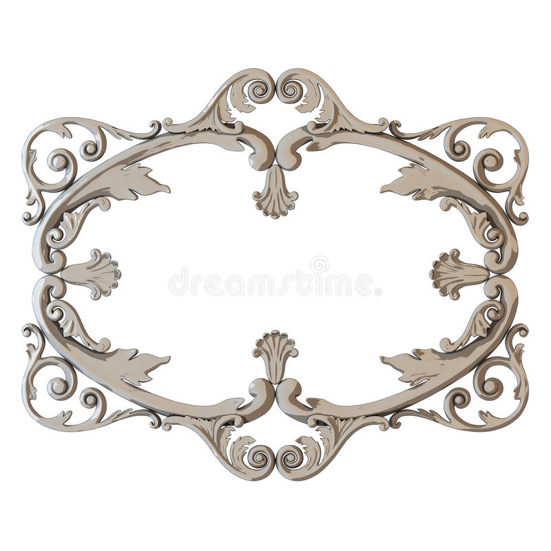 Download Vintage frames stock illustration. Image of pattern, cutout - 24725811
