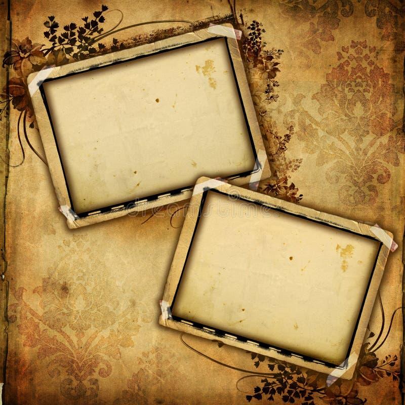 Download Vintage frames stock illustration. Illustration of floral - 7453556