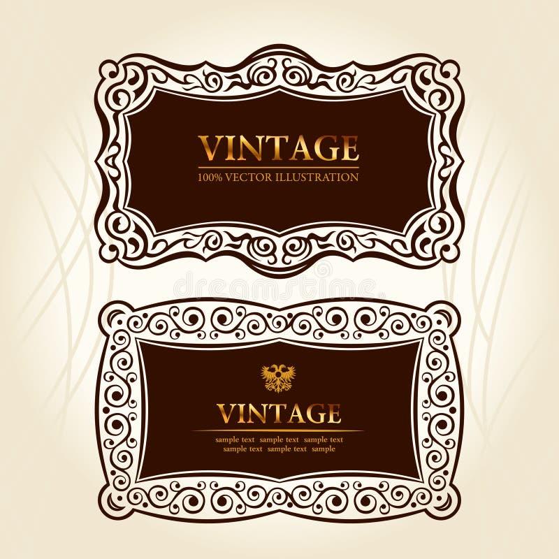 Download Vintage Frames Labels.  Decor Stock Vector - Image: 17860844