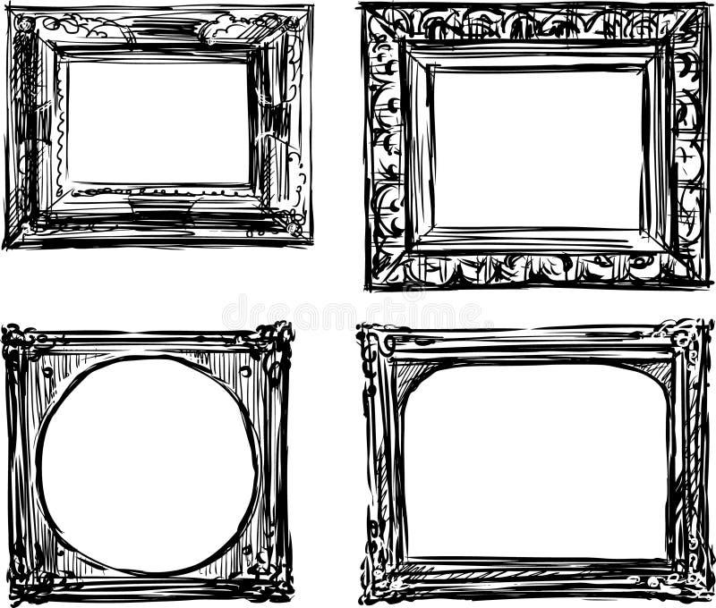 Vintage frames stock vector. Illustration of design, graphic - 30682366