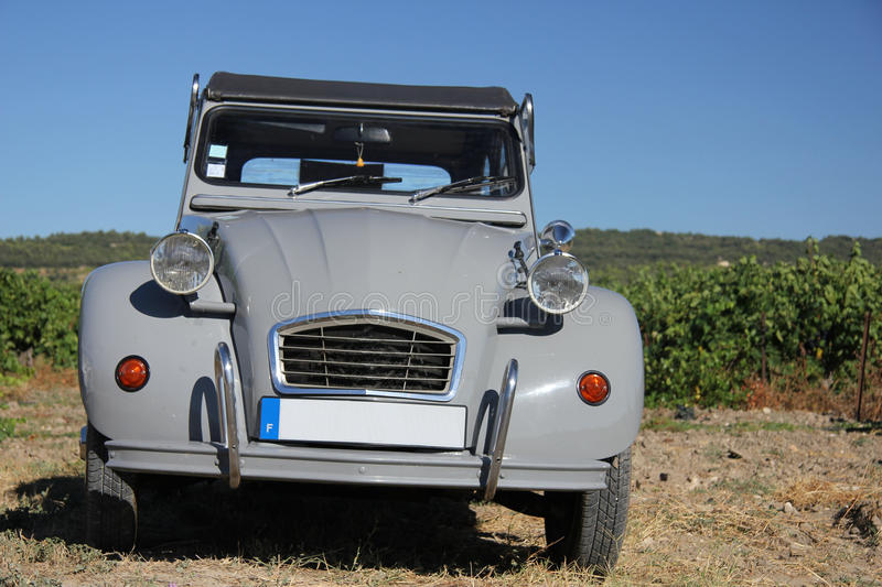 Vintage French Car Royalty Free Stock Image