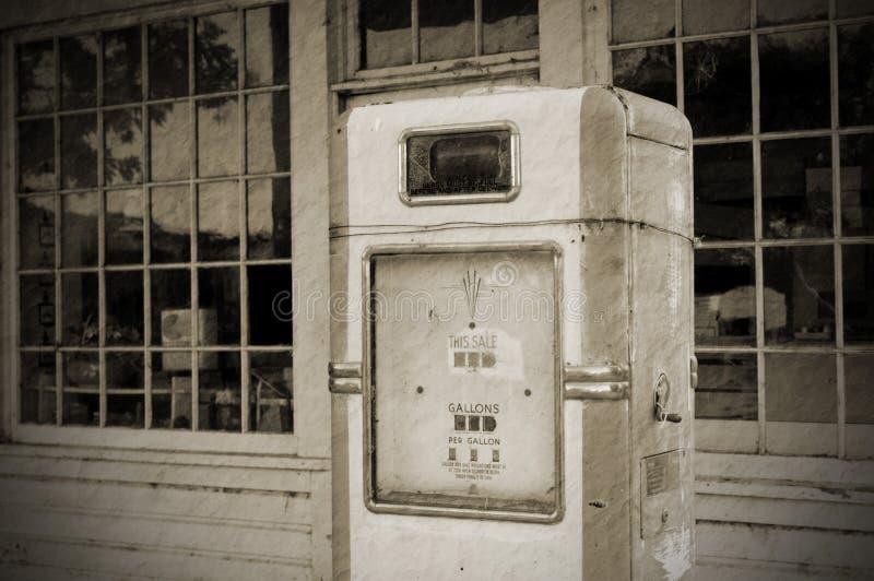Vintage fuel pump (BW)