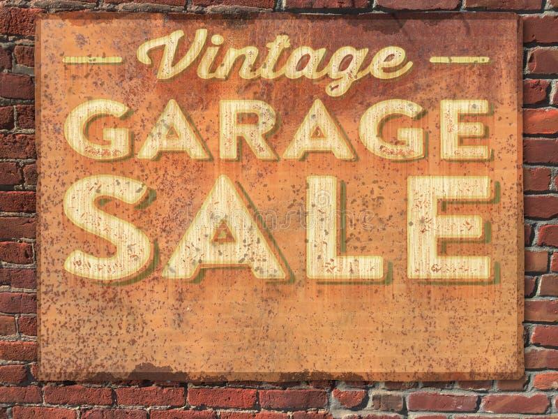 Garage Sale Sign royalty free stock photos