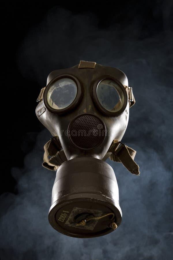 Vintage Gas Mask Isolated royalty free stock image