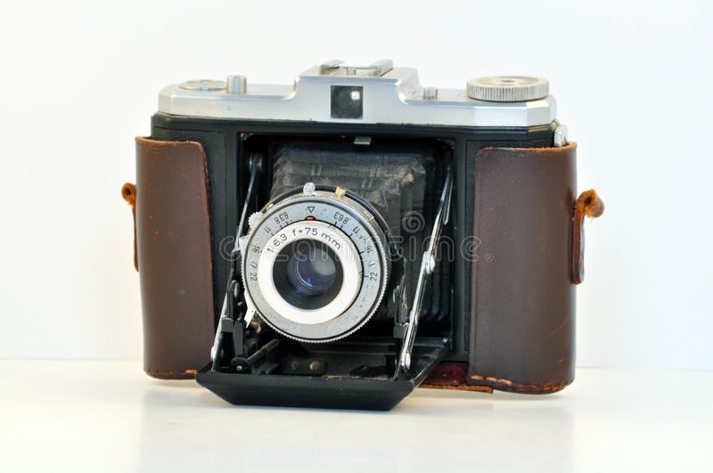 Download Vintage German Camera stock image. Image of isolated - 14756299