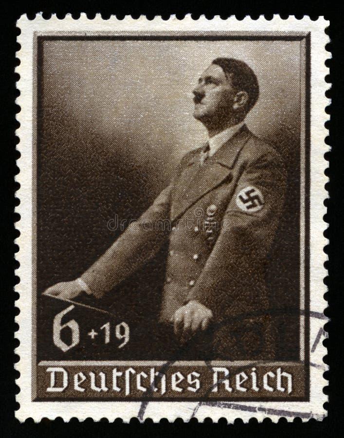 Vintage 1939 German Reich Stamp stock images