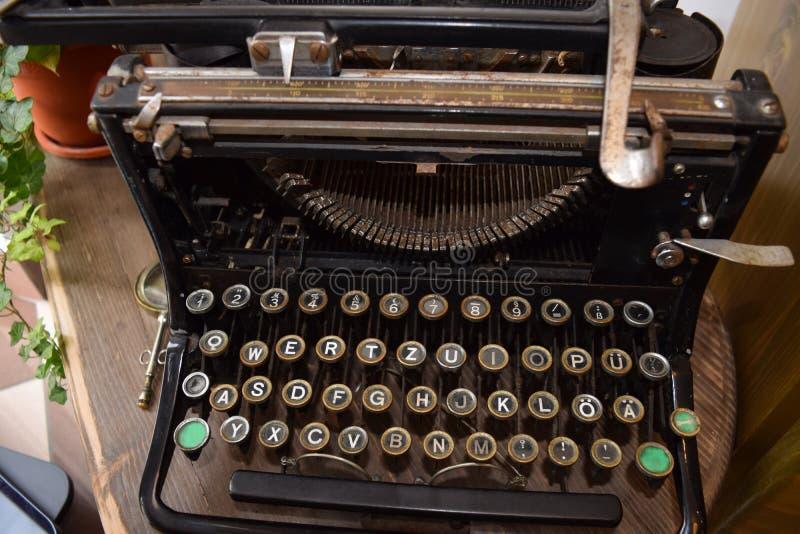 Vintage German Typewriter royalty free stock photos