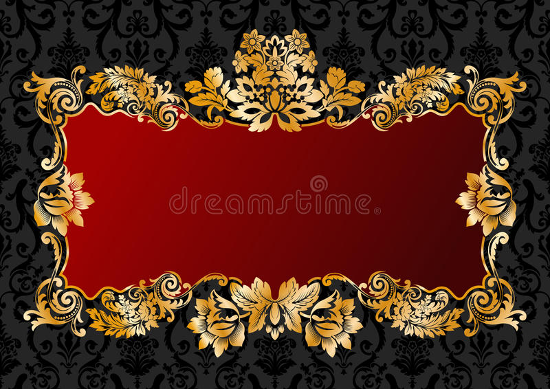 Download Vintage Glamour Frame Stock Images - Image: 13063894
