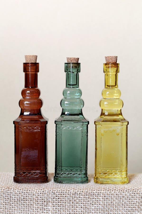 Download Vintage glass bottle stock photo. Image of beverage, closeup - 25322094