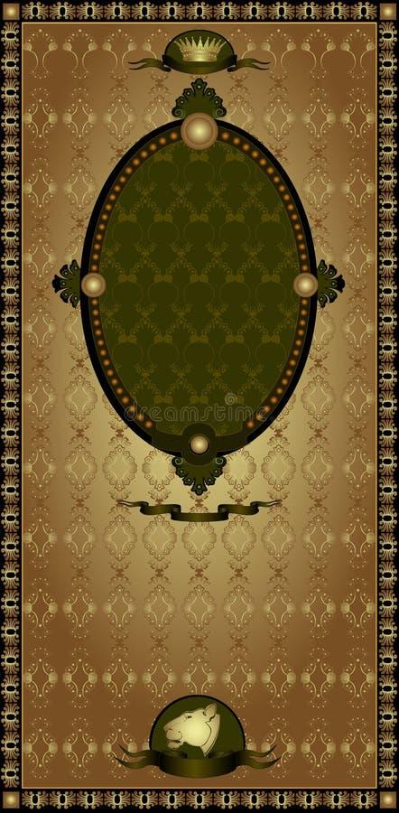 Download Vintage Gold Advertising Banner Royalty Free Stock Image - Image: 18671756