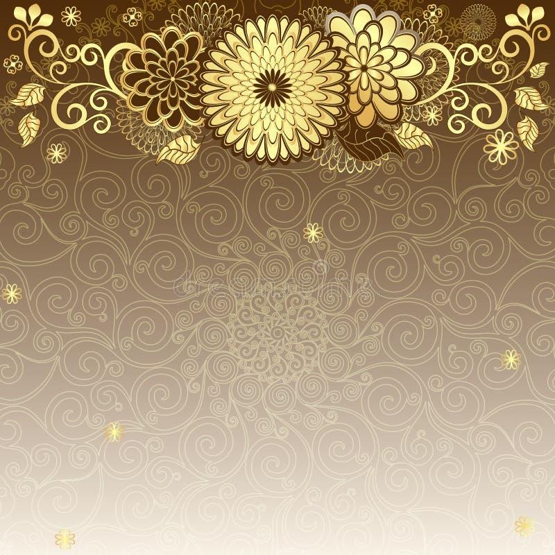 Free Vintage Gold-drown Frame Royalty Free Stock Photo - 27378935