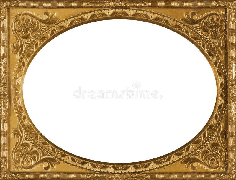 Vintage Gold Frame stock image. Image of decoration, old - 26213787
