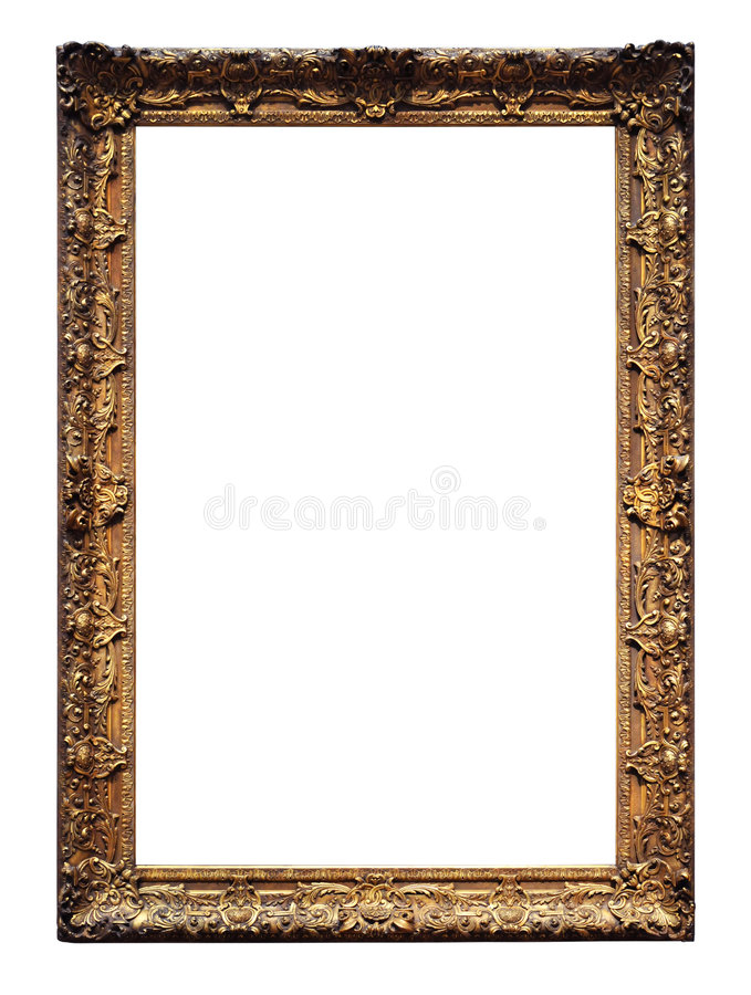 Download Vintage Gold Frame stock image. Image of retro, exhibition - 6302333