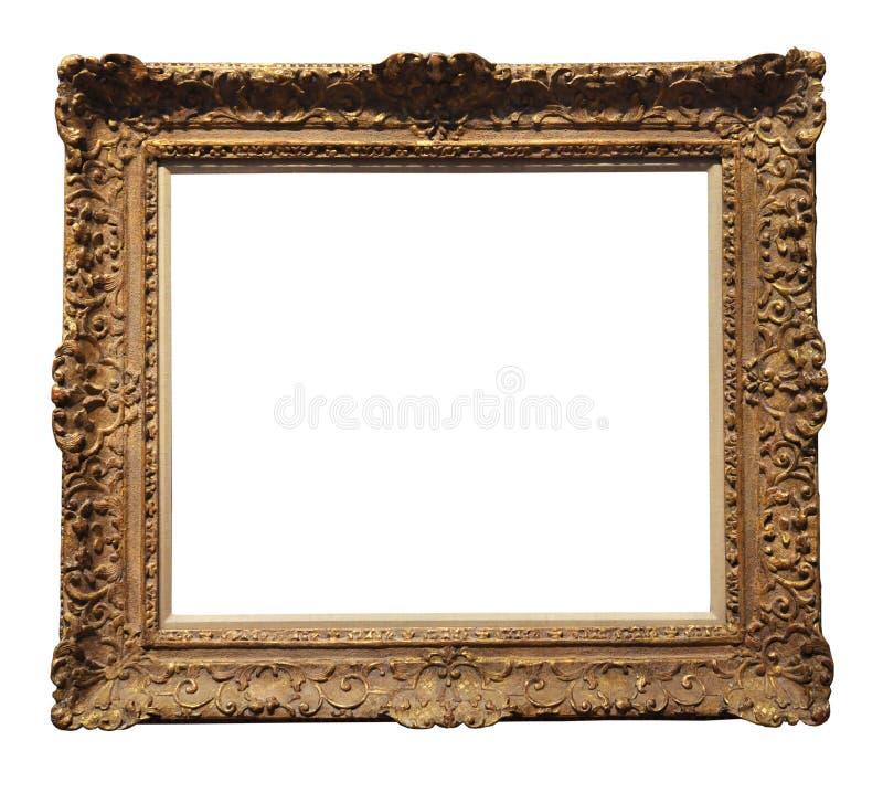 Download VIntage Gold Frame stock photo. Image of design, path - 6302368