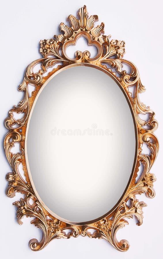 Vintage gold frame stock image. Image of beauty, object - 45678911