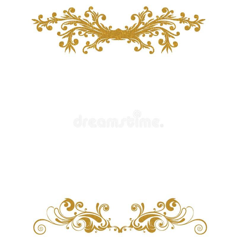 Download Vintage Gold Headers Stock Illustration - Image: 83713603