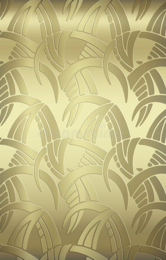 vintage gold wall covering background stock image