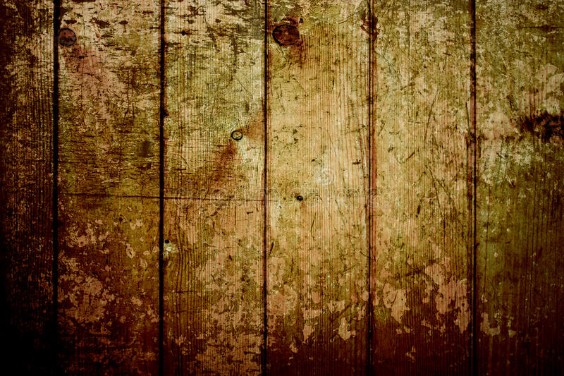 Vintage Gold Wood Texture Background Royalty Free Stock Images