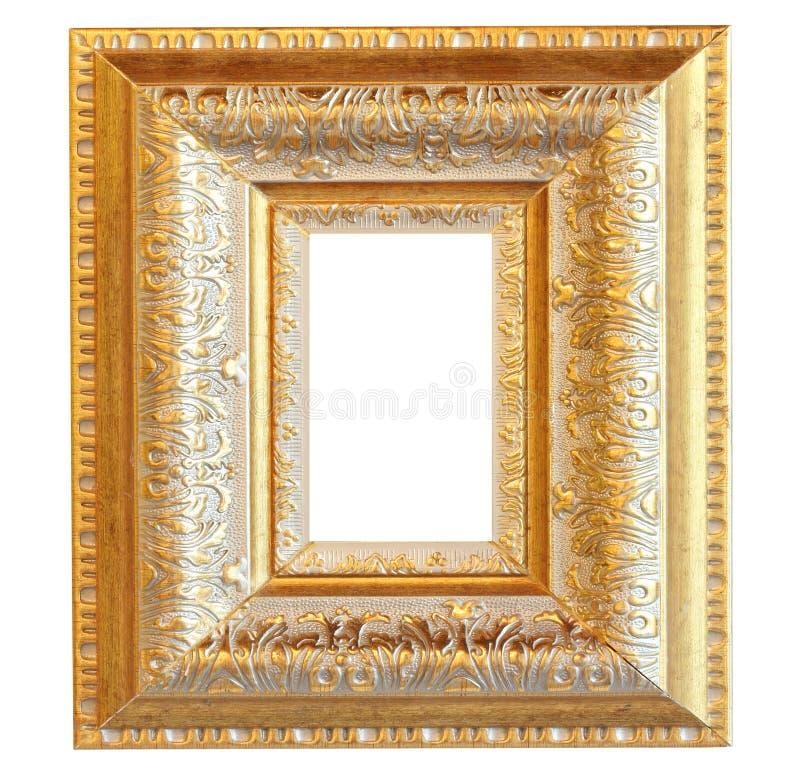 Download Vintage gold wood frame stock photo. Image of golden - 29982134
