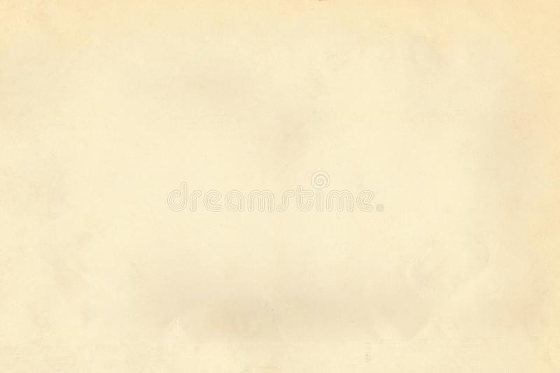 Vintage grain light beige old paper parchment textured background royalty free stock photo