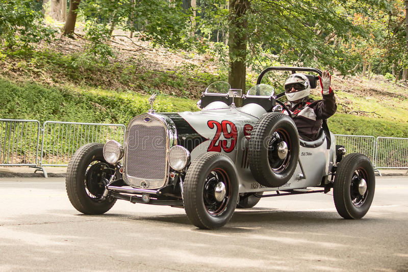 Vintage Grand Prix Racer royalty free stock photography