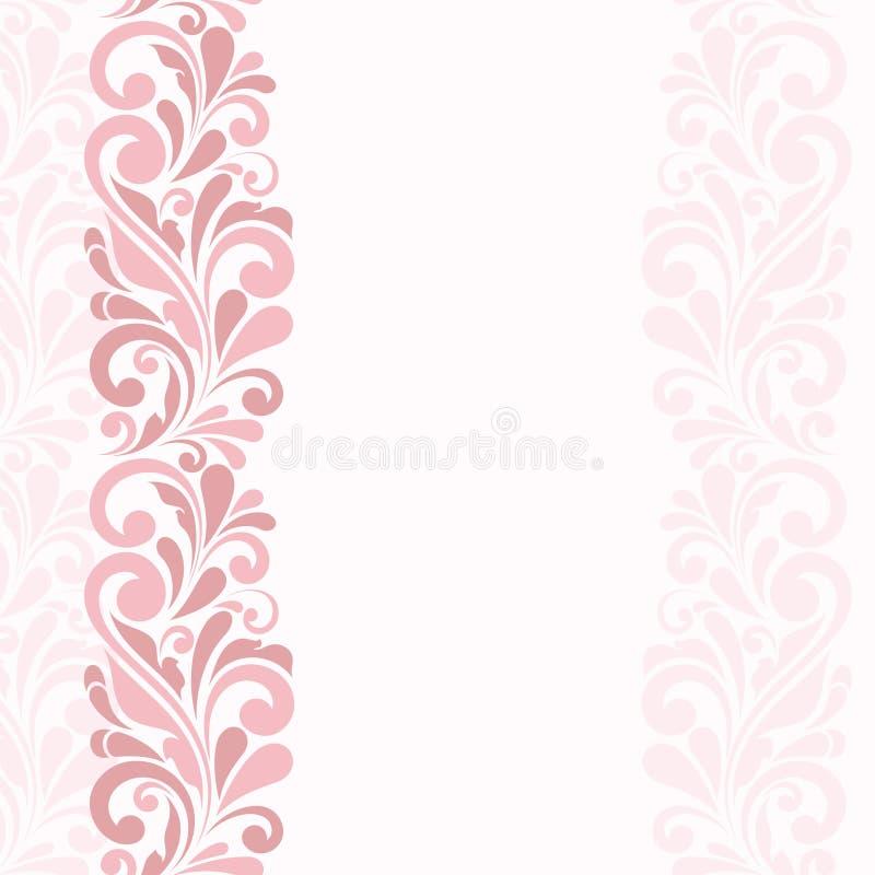 Vintage greeting card stock vector. Illustration of border - 53086789