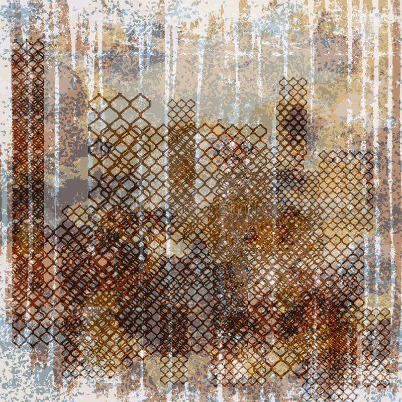 Download Vintage Grunge Background With Crack And Rust Stock Vector - Image: 22645603