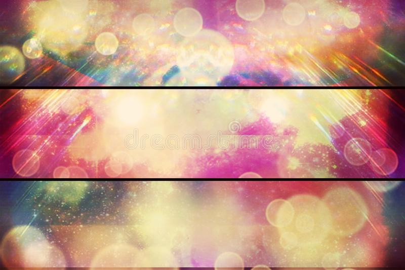 Vintage grunge divine web sun rays background stock photography