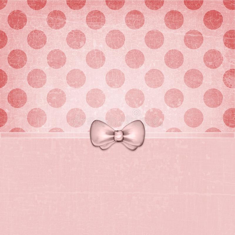 Vintage Grunge Dots Background Soft red 123 stock photography