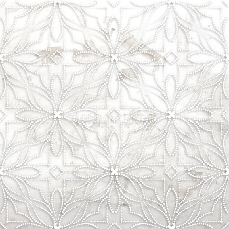 Vintage grunge flower background. Grunge texture for your artistic creations vector illustration
