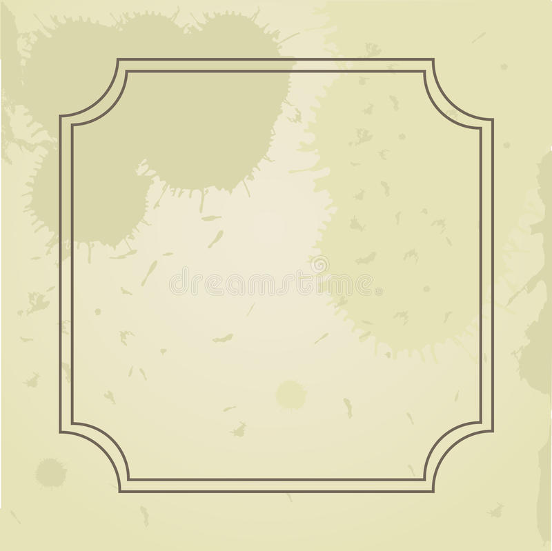 Download Vintage grunge frame stock illustration. Image of pattern - 15954864