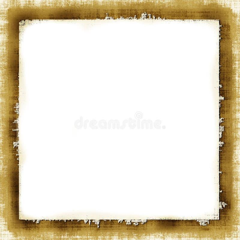 Vintage Grunge Frame stock illustration