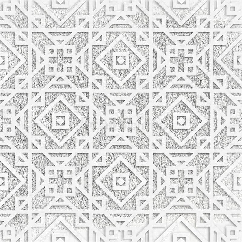 Vintage grunge geometric background vector illustration