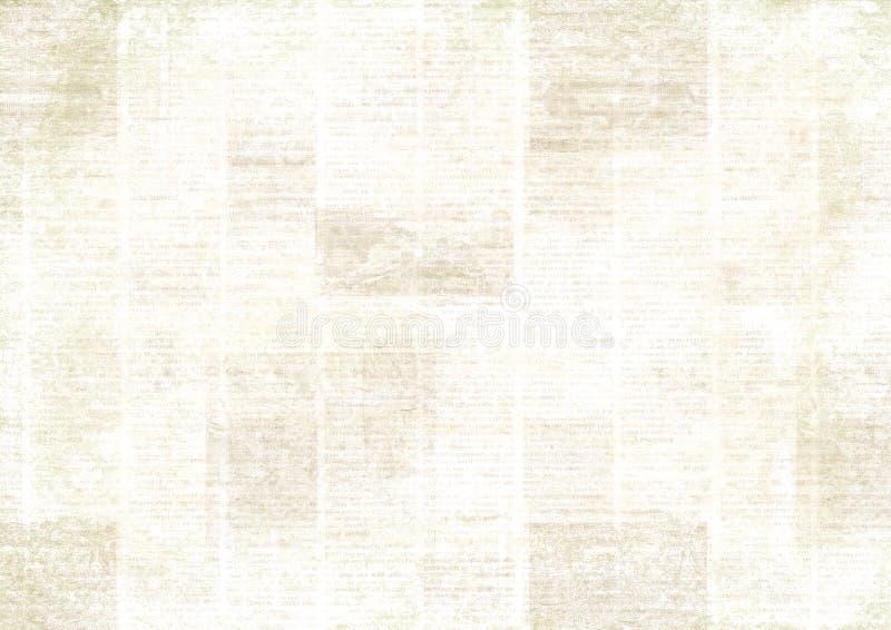 Vintage grunge newspaper collage background royalty free stock photos
