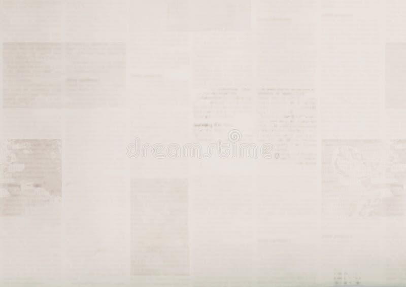 Vintage grunge newspaper textured background. Blurred old paper texture stock photos