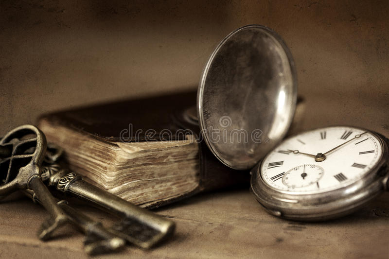 Vintage Grunge Still Life stock photos