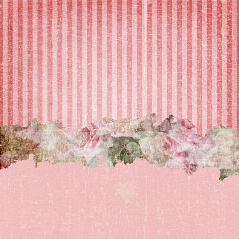 Vintage Grunge Stripes Background Red royalty free stock photos